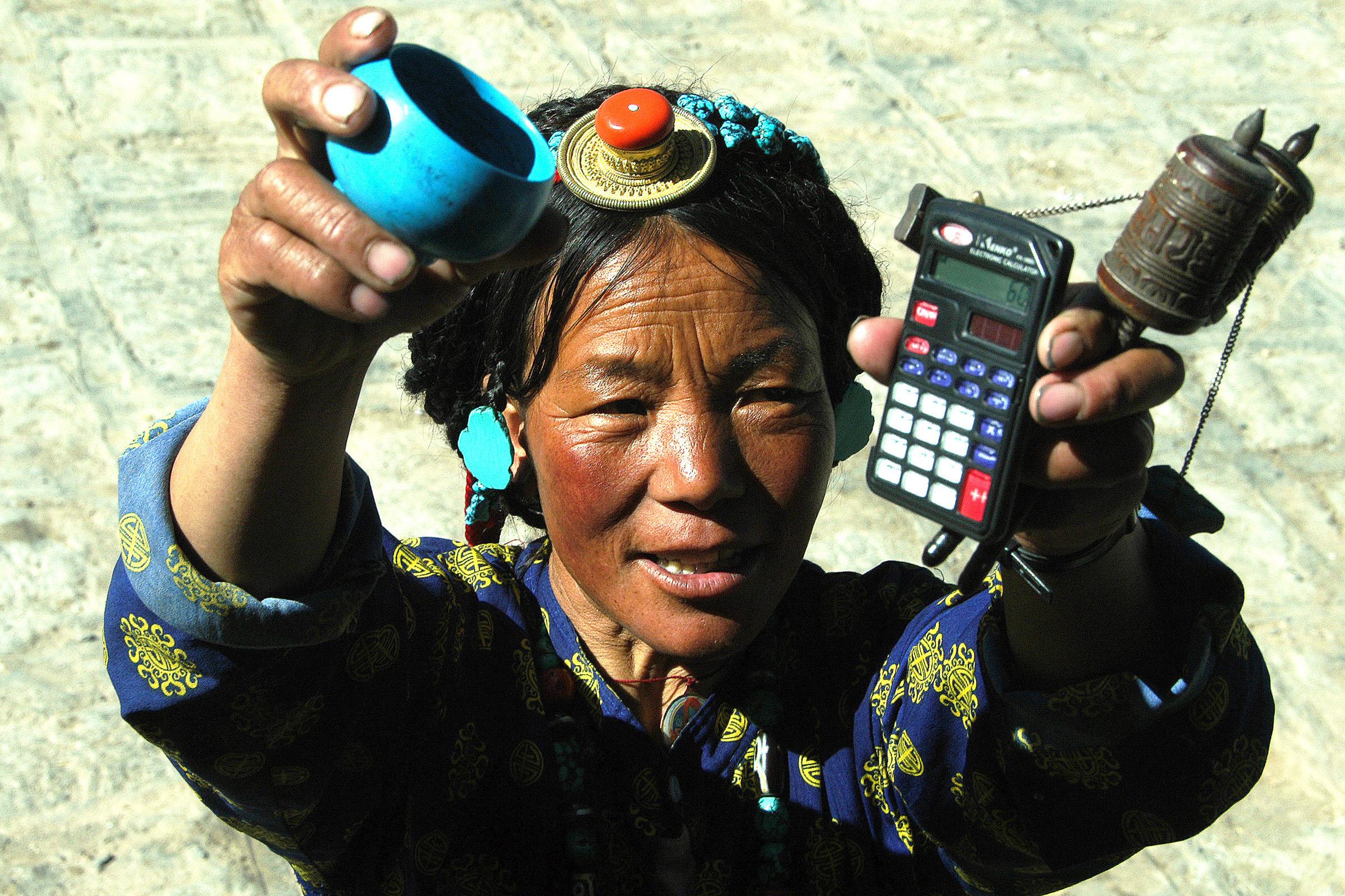 Tibeti emberek