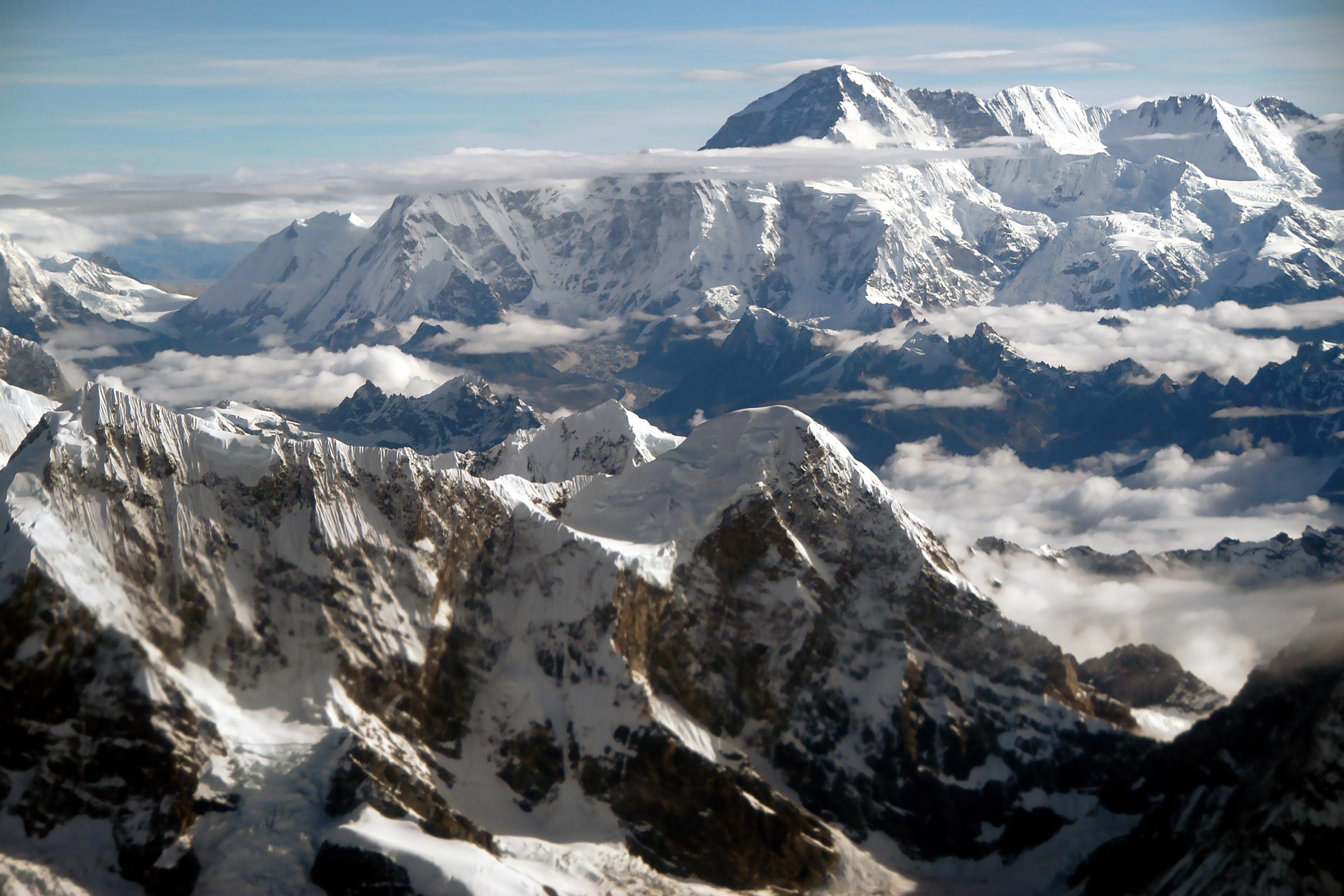 Himalaja felülről