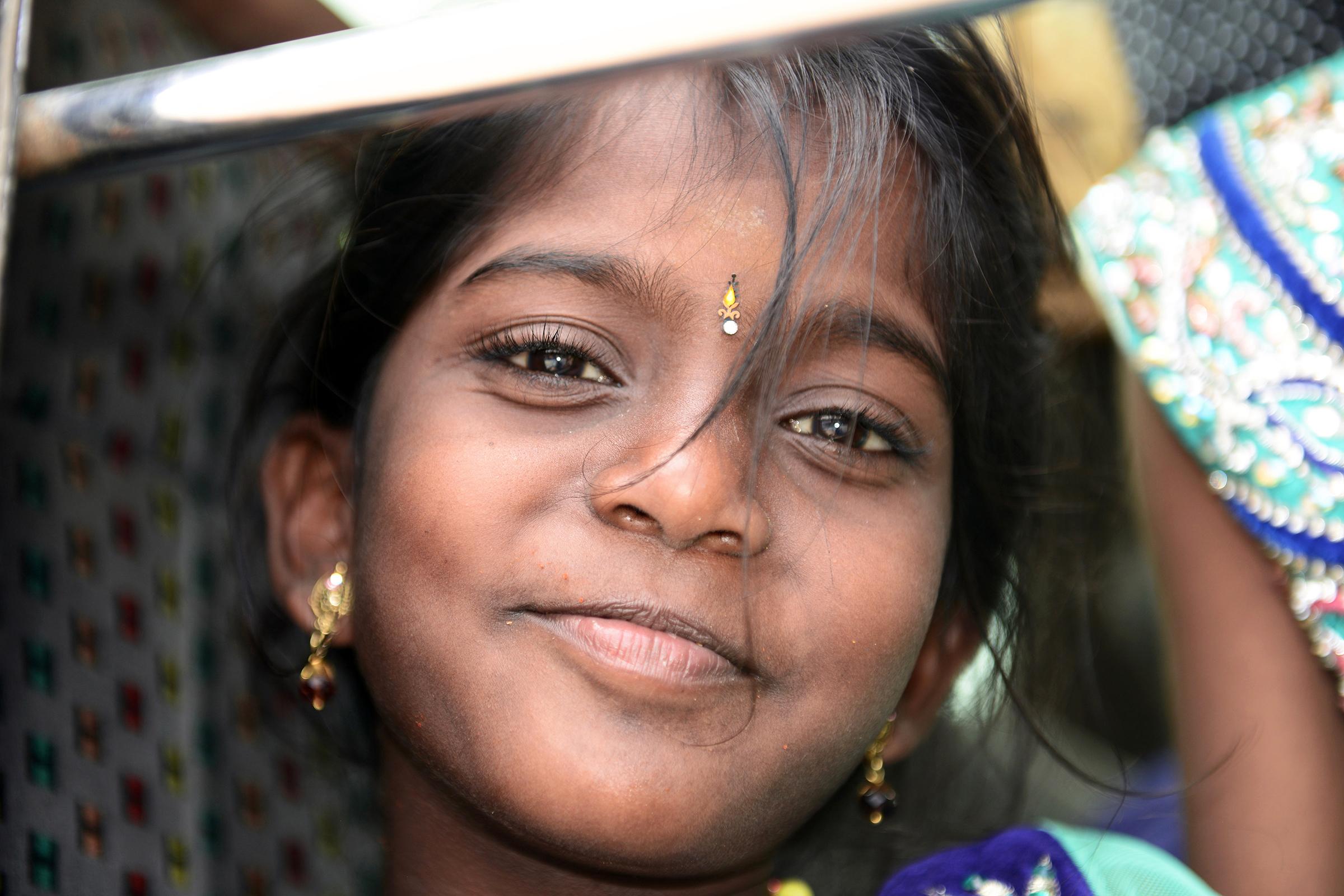Dél-Indiai emberek