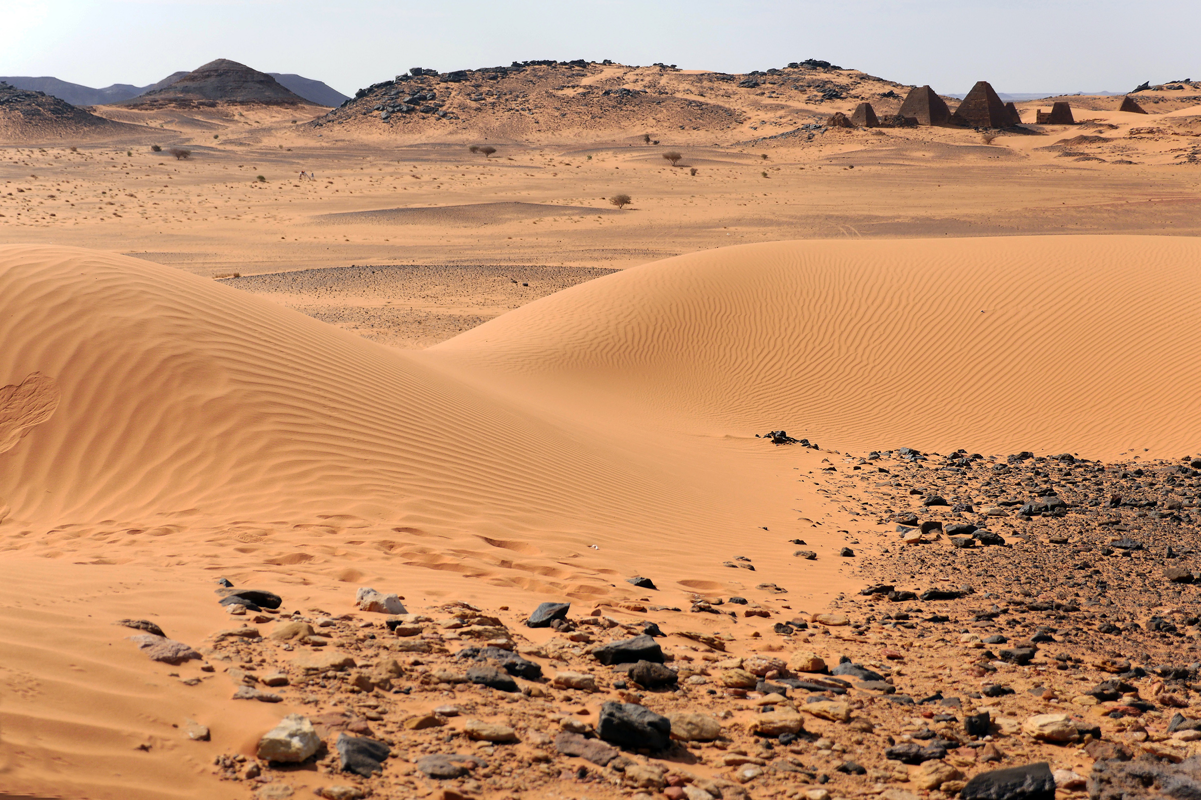 Szudáni táj